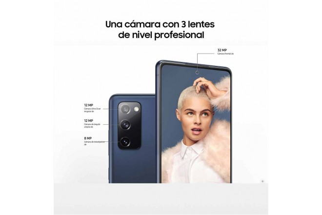 SAMSUNG Galaxy S20 FE 256GB Azul-7