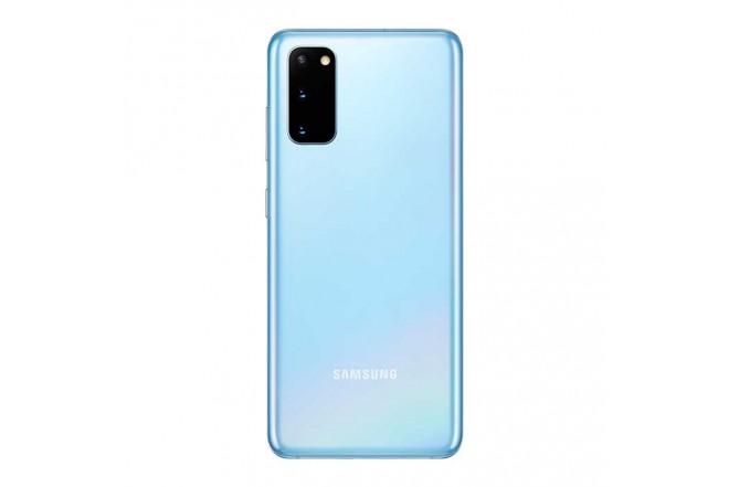 Combo Celular SAMSUNG Galaxy  S20 128GB Azul + Buds Blanco5