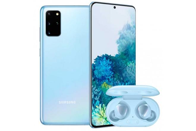 Combo Celular SAMSUNG Galaxy  S20 Plus 128GB Azul + Buds Plus Azul1