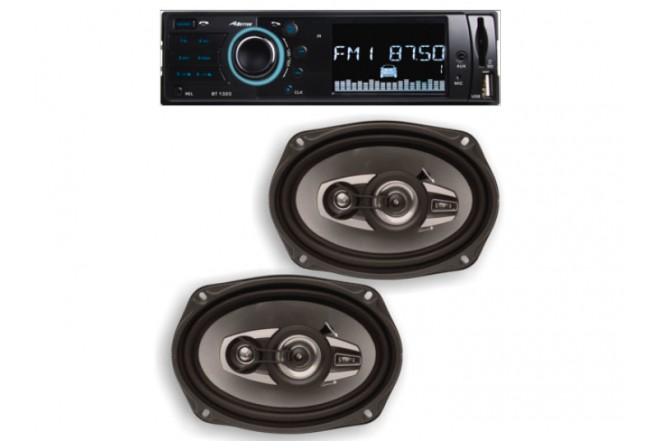 Combo Car Audio BETTER BT1320 + 6x9