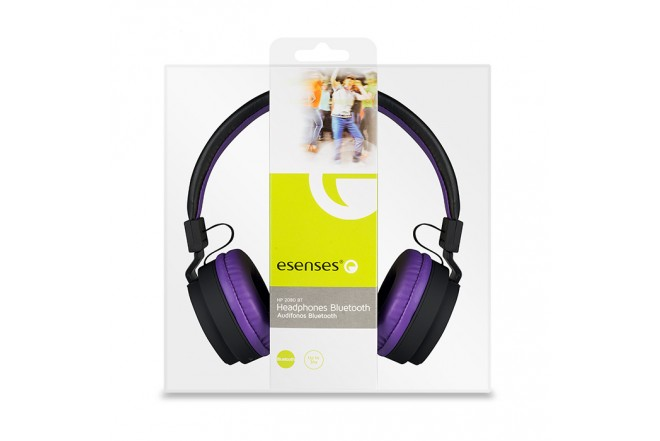 Audífono esenses Bluetooth  OnEar - Multicolor