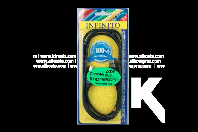 Cable INFINITO Impresora 1.8 Mt