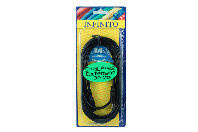 Cable Audio Extensor INFINITO 3Mt
