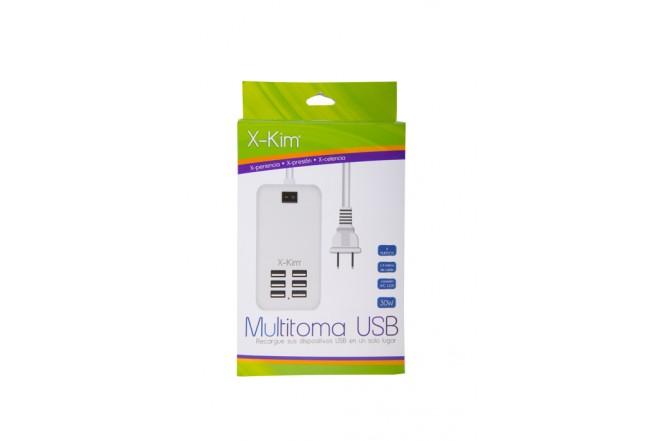 Multitoma X-KIM - 6 Puertos USB