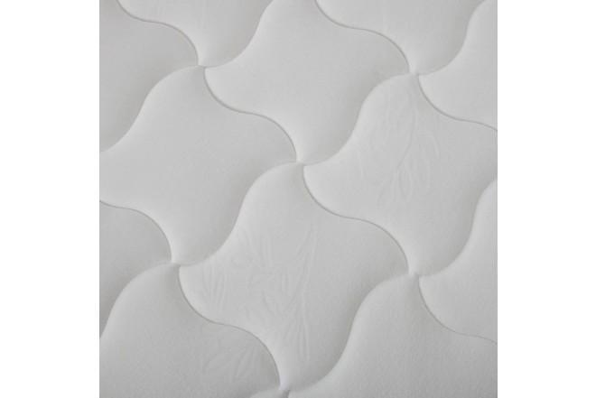 KOMBO SIMMONS: Colchón Resortado Sencillo Hamilton Unitop 100 x 190 cm + Base Cama