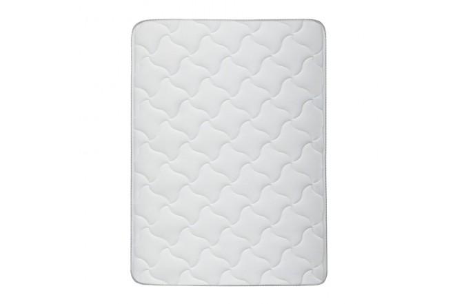 KOMBO SIMMONS: Colchón Resortado King Hamilton Unitop 200 x 200 cm + Base Cama