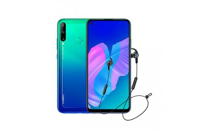 Combo Celular HUAWEI Y7P 64GB Azul - Aurora Blue + Audífo1no AM61_2