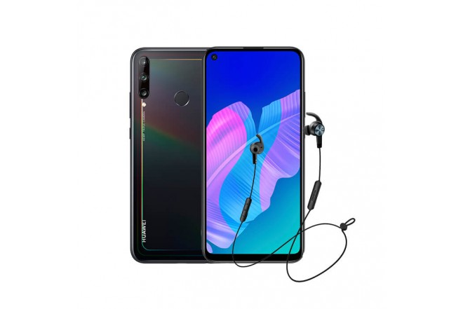 Combo Celular HUAWEI Y7P 64GB Negro - Midnight Black + Audífono AM61_