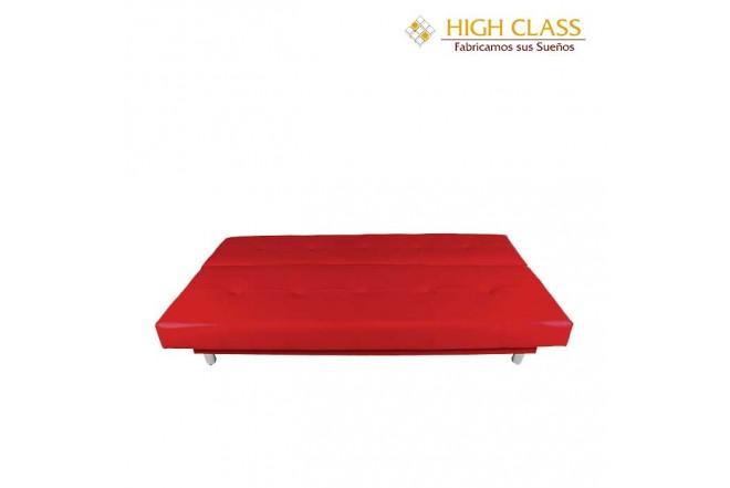 Sofá Cama HIGH CLASS Dubai Capri Rojo
