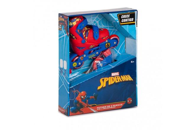 Patines 2 En1 Spiderman S (31-34) Lcmarv