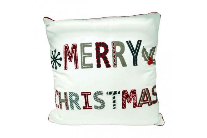Cojín decorativo Navidad KLINE Merry Christmas_1