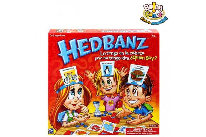 HEDBANZ JUEGO DE MESA NIÑOS