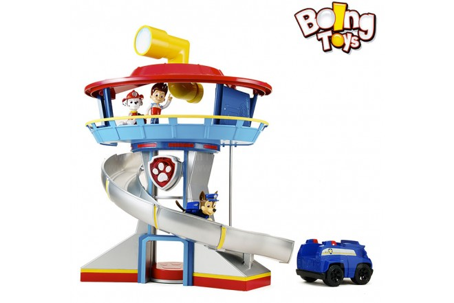 PAW PATROL SET CENTRO DE GUARDIA