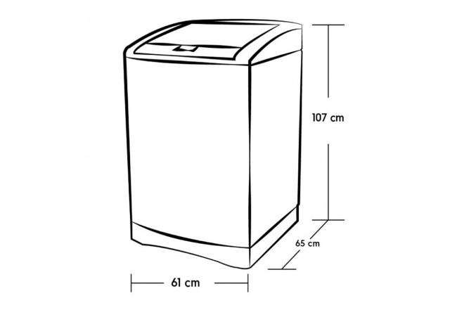 Lavadora ELECTROLUX 18Kg EWIB18D3CW BTU Blanco3