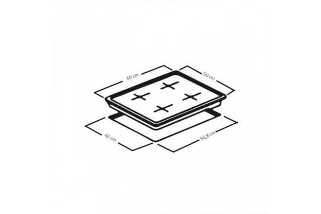 Cubierta MABE de 60cm CMG6054LA-0CON