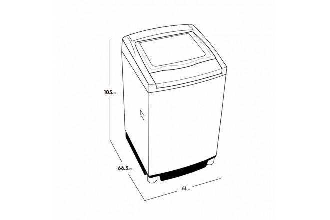 Lavadora Electrolux 18 Kg Efficace G62