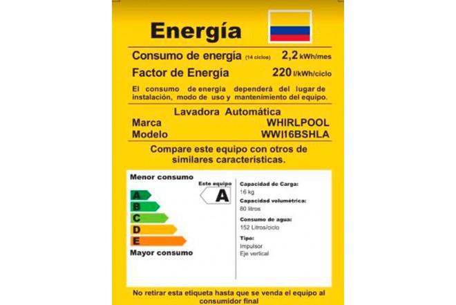 Lavadora WHIRLPOOL 16 Kg WWI16BSHLA Gris7