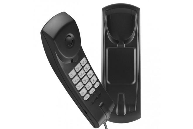 Teléfono Alámbrico INTELBRAS TC20 Negro