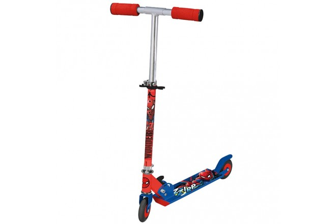 Spiderman Folding Scooter