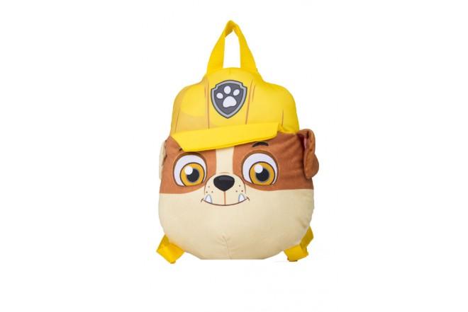 Mochila Rubble Paw Patrol premium toys amarilla