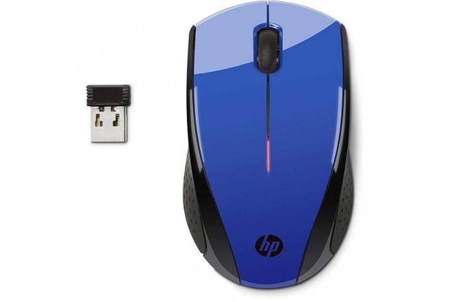Mouse HP Inalambrico Optico X 3000 Azul Oscuro