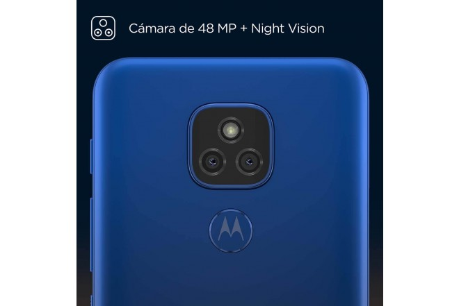 Celular MOTOROLA E7 PLUS 64GB Azul - Mystic Blue-2