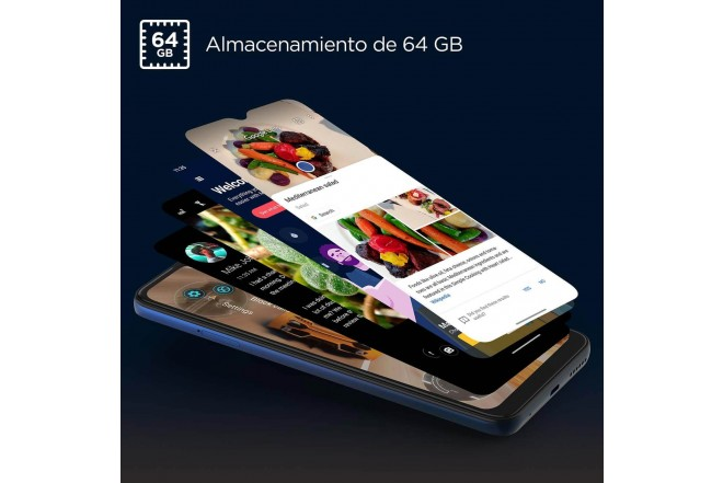 Celular MOTOROLA E7 PLUS 64GB Azul - Mystic Blue-4