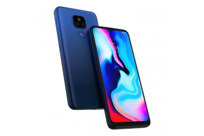 Celular MOTOROLA E7 PLUS 64GB Azul - Mystic Blue-9