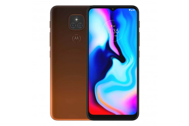 Celular MOTOROLA E7 PLUS 64GB Naranja - Twilight Orange-1