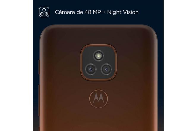 Celular MOTOROLA E7 PLUS 64GB Naranja - Twilight Orange-2