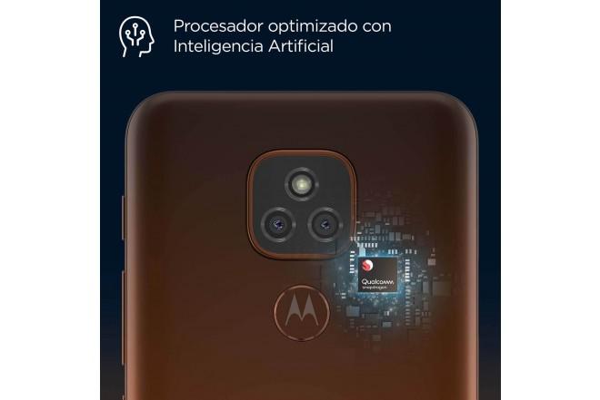 Celular MOTOROLA E7 PLUS 64GB Naranja - Twilight Orange-6