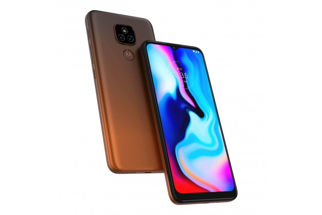 Celular MOTOROLA E7 PLUS 64GB Naranja - Twilight Orange-9