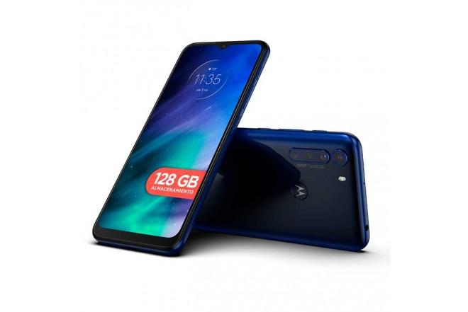 Celular MOTOROLA One Fusion 128GB Azul - Deep Saphire