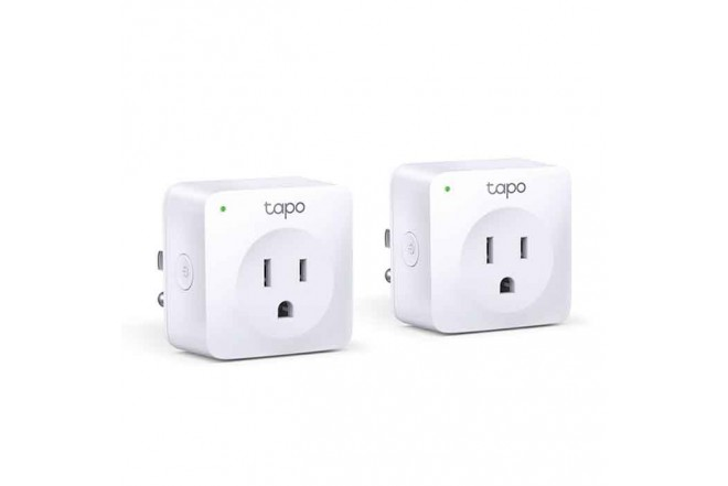 Mini plug inteligente WiFi P100 2 pack   2