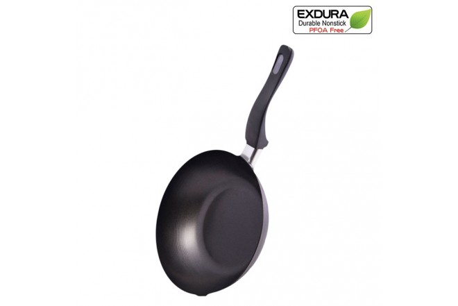 Sartén Wok EXDURA 20Cm Negro COL136