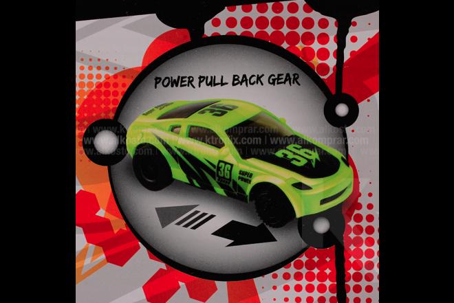 Pista Track Racing 360° x 2 17 Piezas