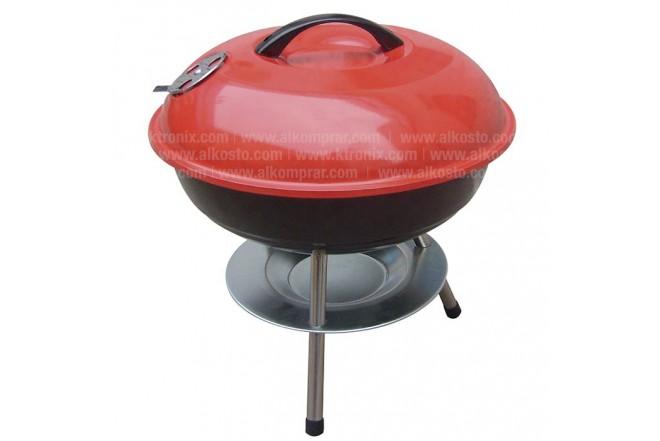 BBQ A Carbón para Mesa Rojo RY22014A