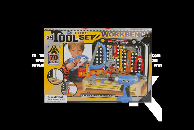 Juguete Set De Herramientas Workbench