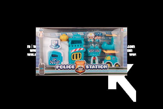 Set Infantil Police Station