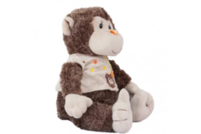 SUTEX Peluche de Mono con Camiseta de 29 cm