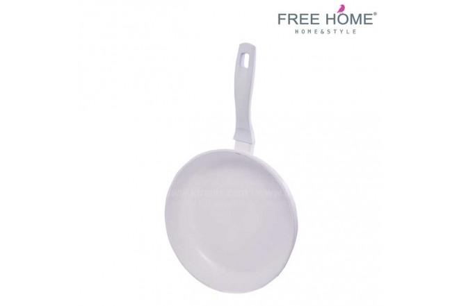 Sartén Inducción - FREE HOME 26 cm U 4.0 Mm Blanco BFT-SFP