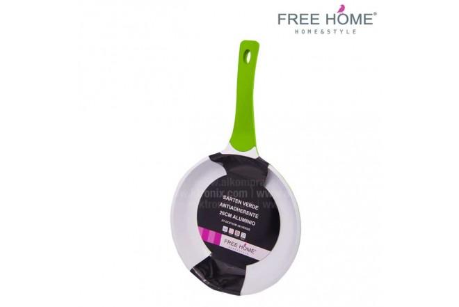 Sartén FREE HOME 26 cm 4.0 mm Verde BFT-SFP