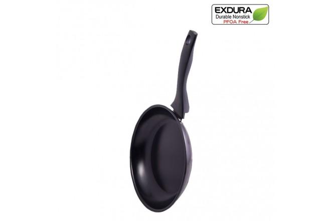 Sartén EXDURA 24 cm Negro G4024-Z Apto para Estufas de inducción