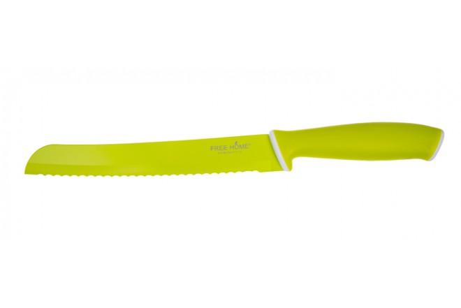 Cuchillo de Cocina Para Pan FREE HOME Verde