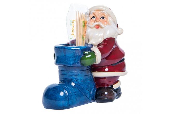 Figura de Santa Claus Porta Palillos