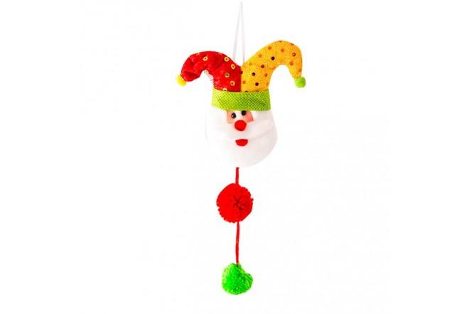 NAVIDAD Colgante Santa Claus de 9.5 cm