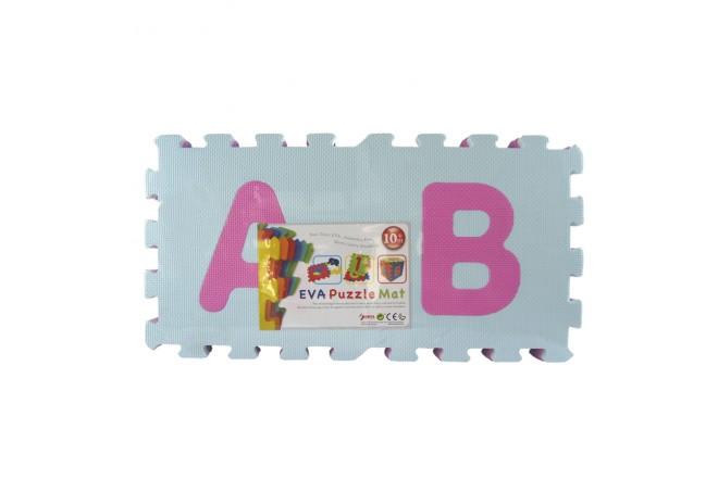 Alfombra 26 Piezas Alfabeto A-Z Niña