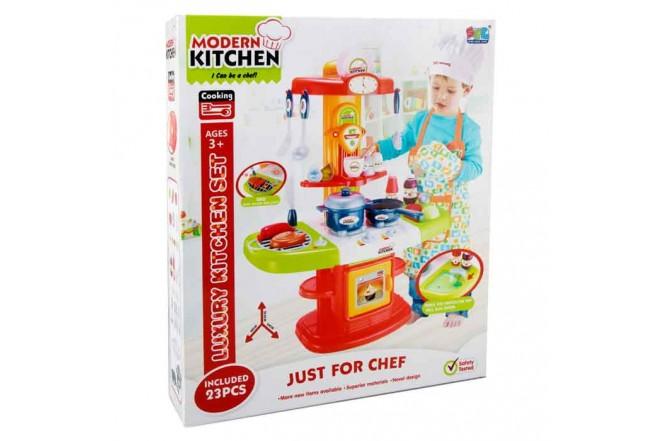 Set luxury kitchen niños