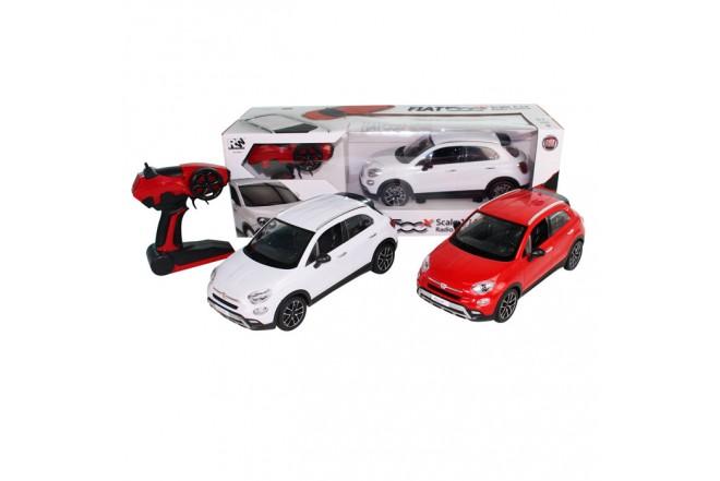 RW Vehículo Fiat 500 X escala 1:14 Rojo