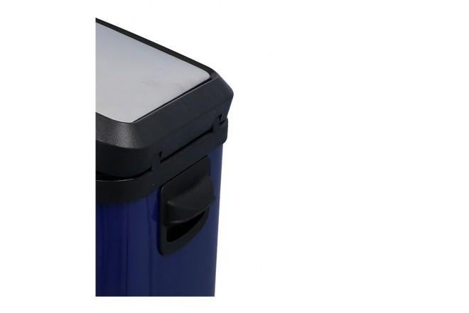 Papelera de Pedal/Caneca de basura FREE HOME Azul Oscuro - 10 Litros (Canecas)-6